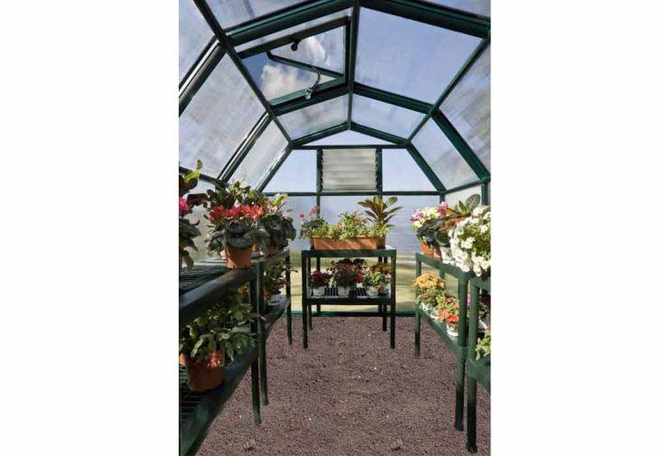Serre de jardin polycarbonate Rion Monet (507 et +)