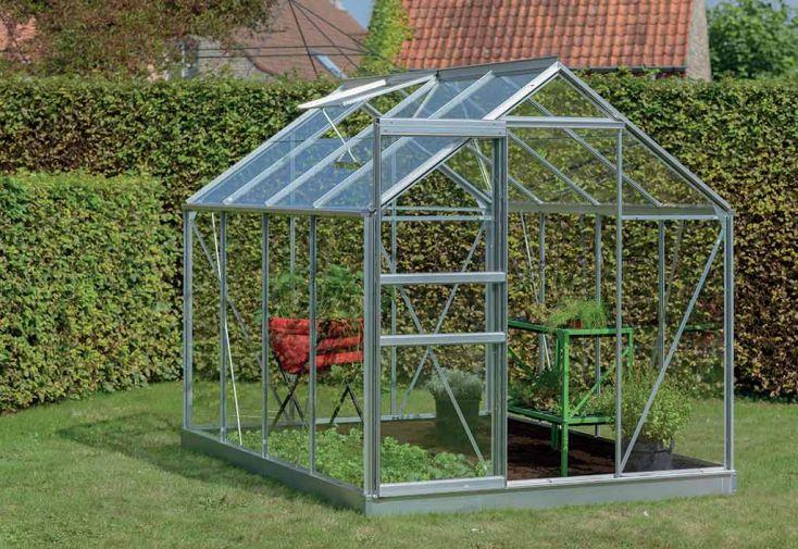 Serre Jardin Aluminium Verre Ivy 5 m² – Plusieurs Coloris