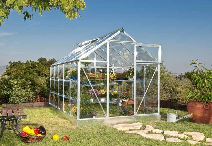 Serre de Jardin Polycarbonate 106 NG Alu