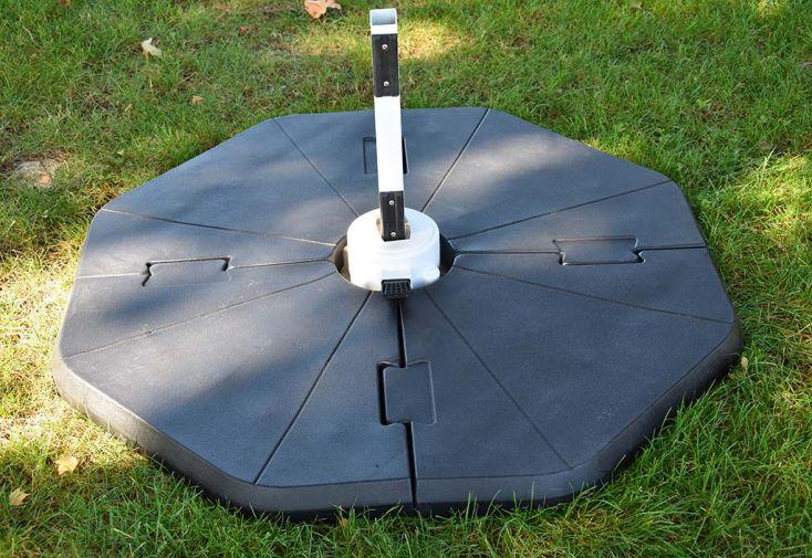Socle Modulable pour Parasol en PVC Givex Puzzle