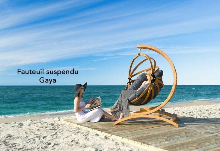 Support en bois autoclave Spinnaker pour fauteuil suspendu Gaya