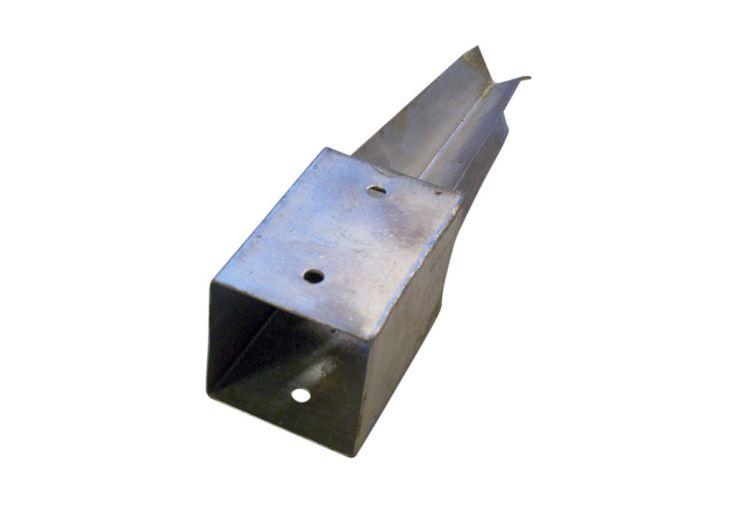 kit d'ancrage à enfoncer dans le béton pour poteaux de 7 x 7 cm ou 9 x 9 cm