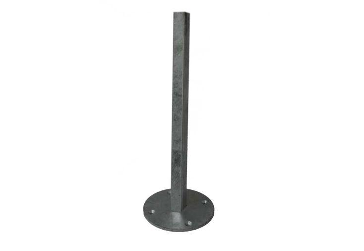 support pilier rond 90 degr pour voile d 39 ombrage ingenua umbrosa. Black Bedroom Furniture Sets. Home Design Ideas