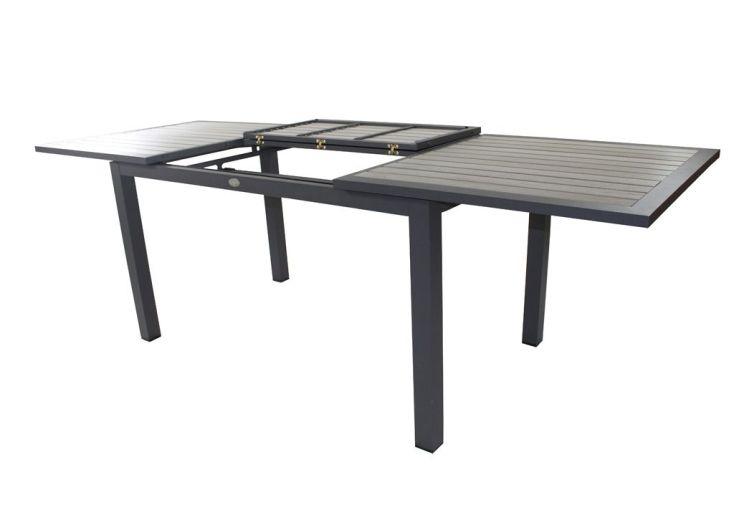 table bois composite rectangulaire 160 240x87cm table bois composite rectangulaire 160. Black Bedroom Furniture Sets. Home Design Ideas
