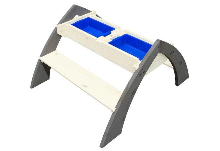 table de jeux pour enfant avec sable et eau