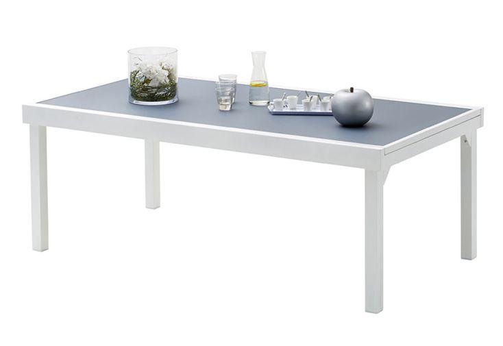 Salon de Jardin Modulo: Table Extensible + 8 Fauteuils + 4 Chaises