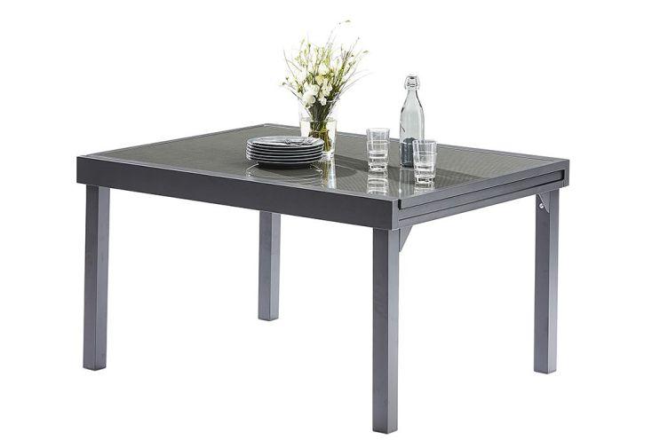 Salon de jardin Modulotex: Table Extensible + 6 Fauteuils + 4 Chaises