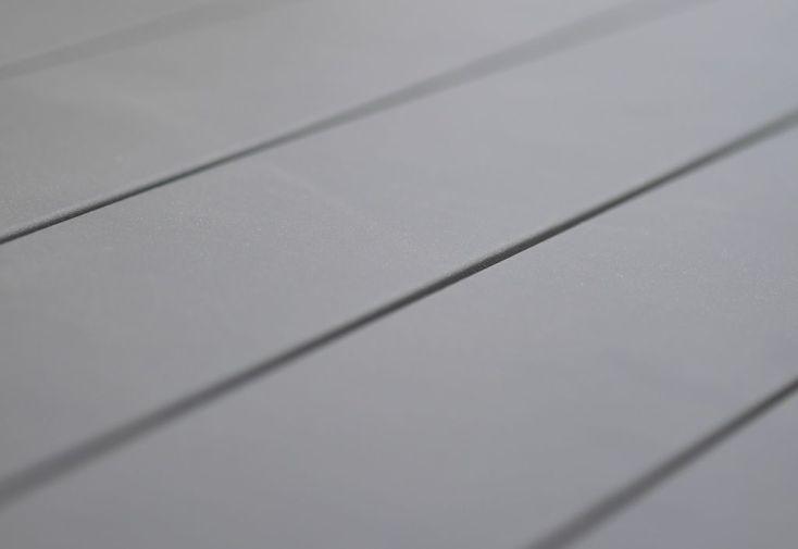 plateau en aluminium pour table de jardin avec rallonge automatique