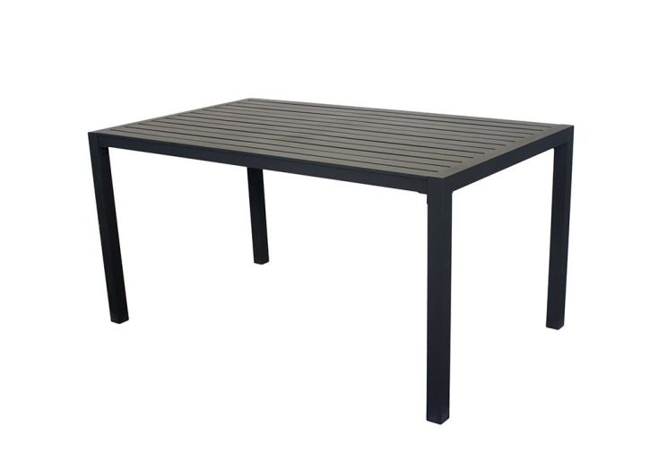 Table de jardin en aluminium Sarana