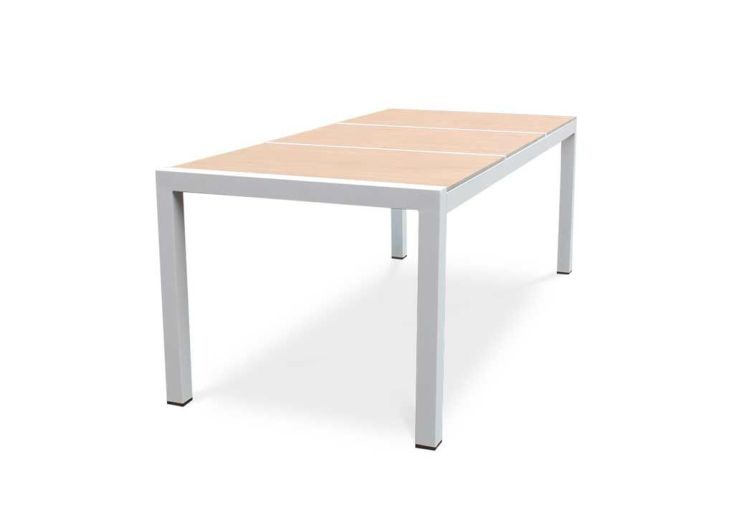 Table de Jardin Aluminium et Céramique 200 x 100 cm Helsinki