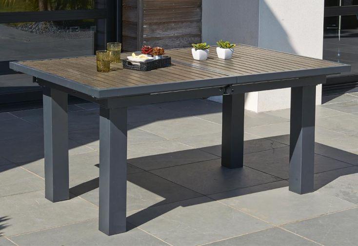 Table Aluminium Composite (160/220x100x74)