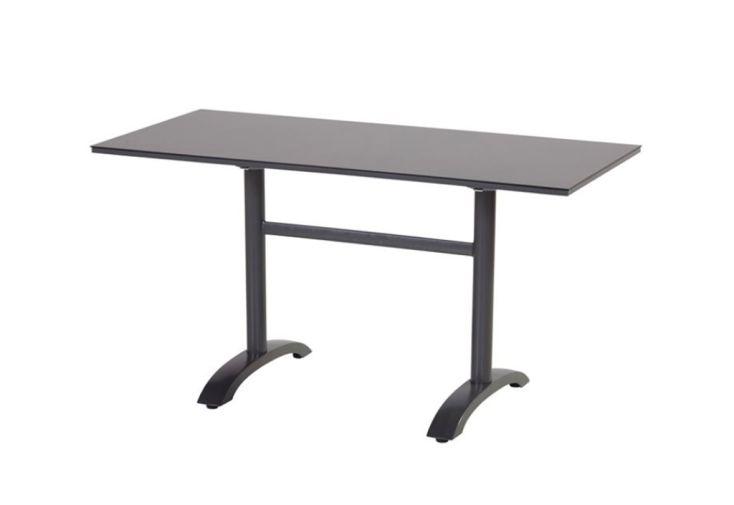 Table De Jardin Pliable En Aluminium Et Hpl Sophie Bistro 68 X 138
