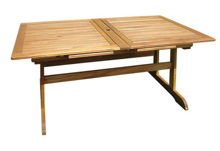 table jardin bois acacia 140 170 200x90 table jardin