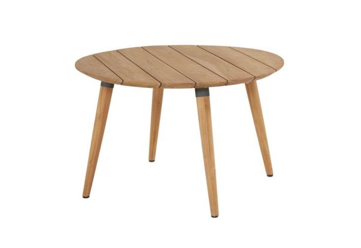 Table de Jardin Ronde en Bois de Teck Hartman Sophie Studio Teak ⌀ 120 cm