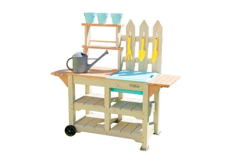 Table de jardinage en bois pour enfant Kidkraft avec accessoires inclus