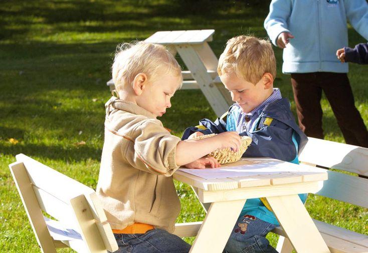 Table de Pique-Nique en Bois pour Enfant Nicki (4 Places)