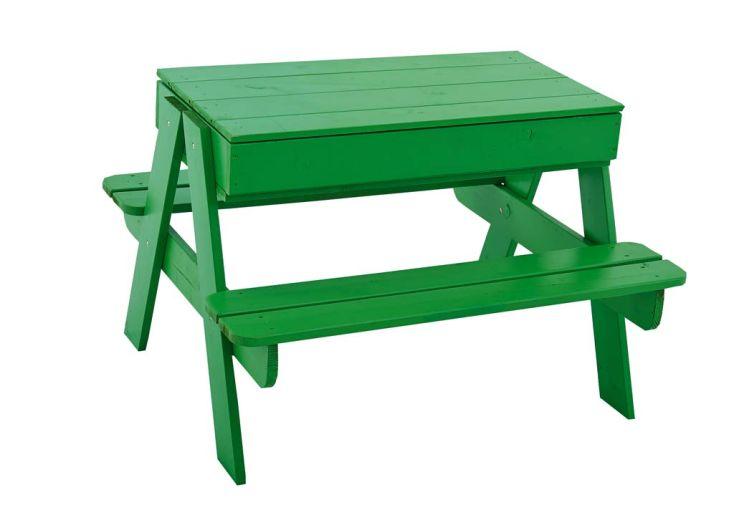 Table Pique Nique Enfant Bois Picsand