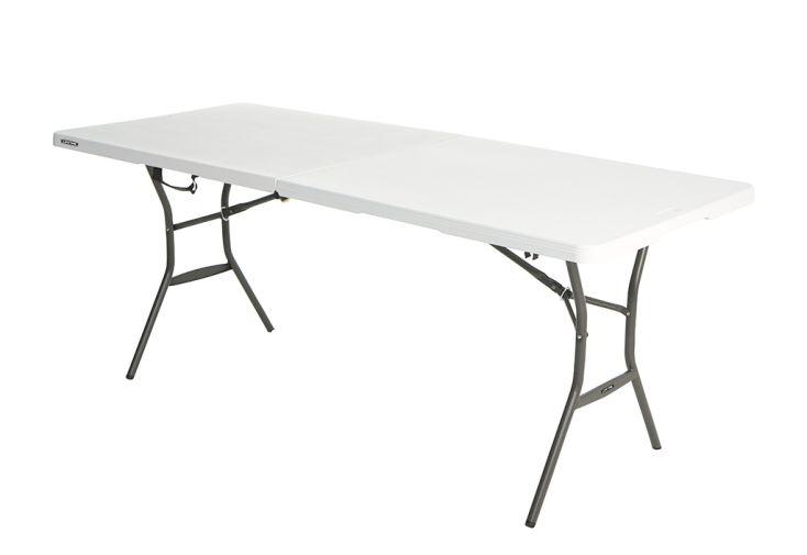 Table pliante valise en acier et résine Lifetime