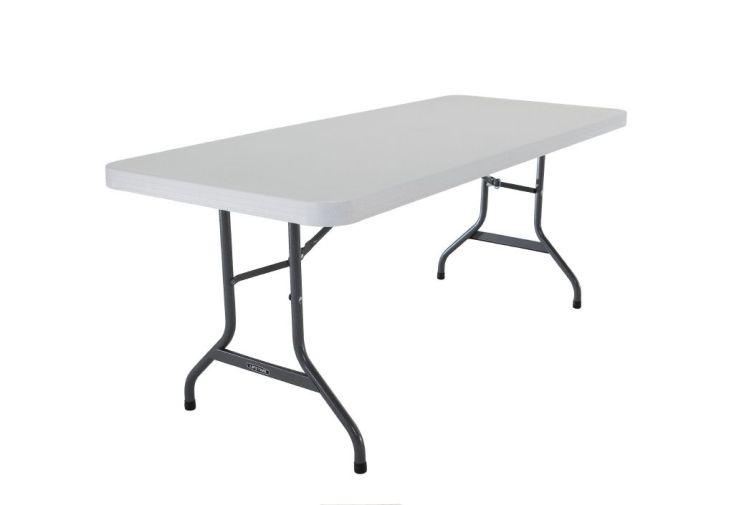 Lot de 25 Tables Résine non Pliante 183x76 Qualité Professionnelle