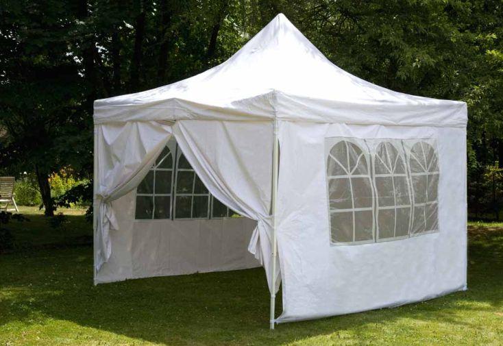 Tente Pliable 3x3 Acier Toile 260 gr/m²