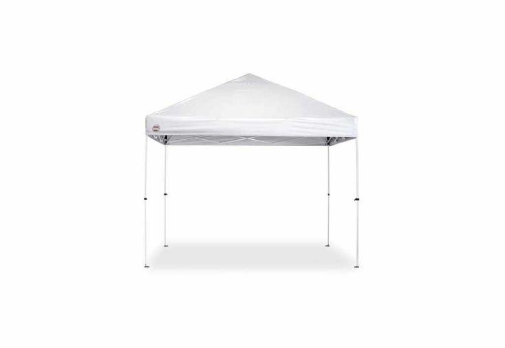 Tente de Réception Pliante 3x3 Acier Blanc + Sac