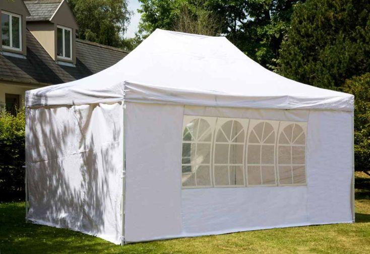 Tente pliable 3x6 acier toile 260 gr m garden factory for Piscine 3x6 prix