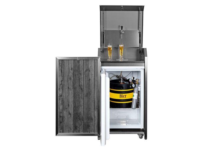 Tireuse à bière d'extérieur avec frigo Stengel Mono Box