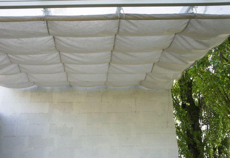 Toile d'Ombrage Coulissante pour Pergola Patio (540x300)