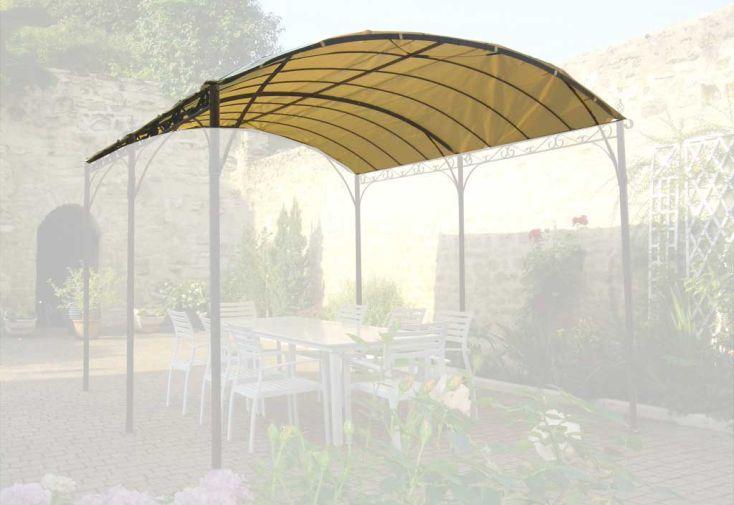 Toile d'ombrage tonnelle 3x4 m Castellane