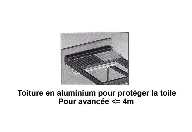 Toit Protection Complet En Alu Pour Pergola Neptune Pour Avanc E