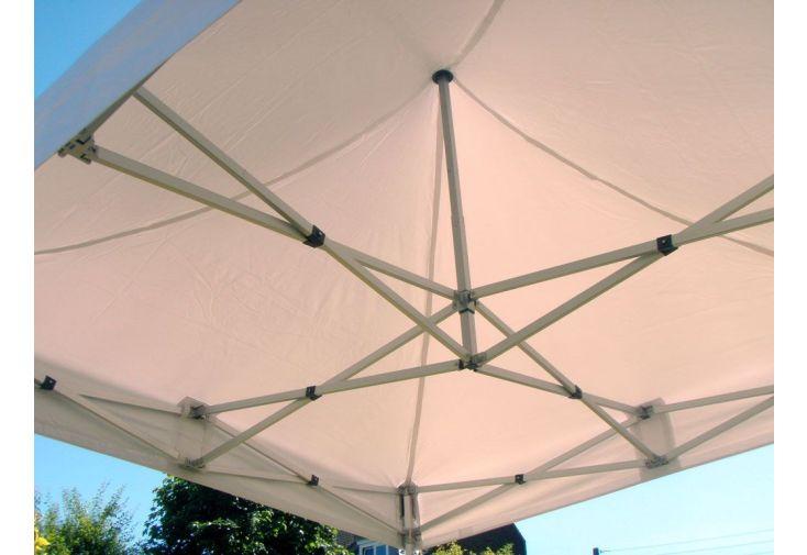 Tente de Réception Pliante 3x3 Alu Renforcé 55mm + Toile 520gr/m²