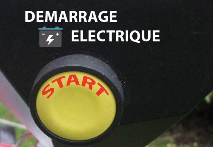 Tondeuse Thermique Tractée 190 CC Démarrage Electrique