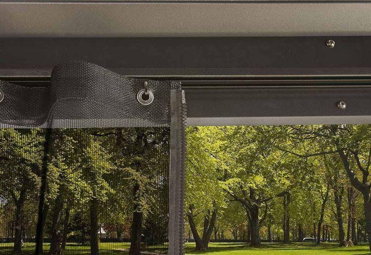 Pergola autoportante 12 m² avec moustiquaires