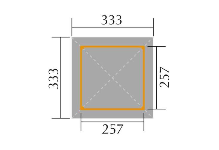 Tonnelle Bois Paradies 2 (333x333)+kit