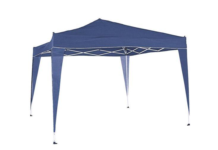 Tonnelle Alu Pliable Bleue 3x3m