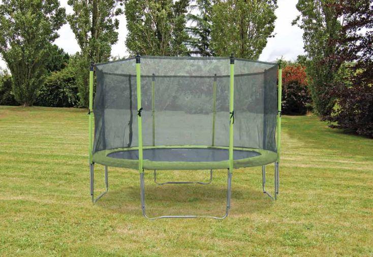 Trampoline protection 365 cm soulet - Trampoline d exterieur ...