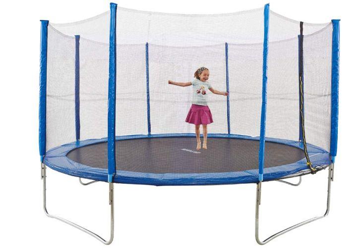 trampoline bleu protection 430 cm amca. Black Bedroom Furniture Sets. Home Design Ideas