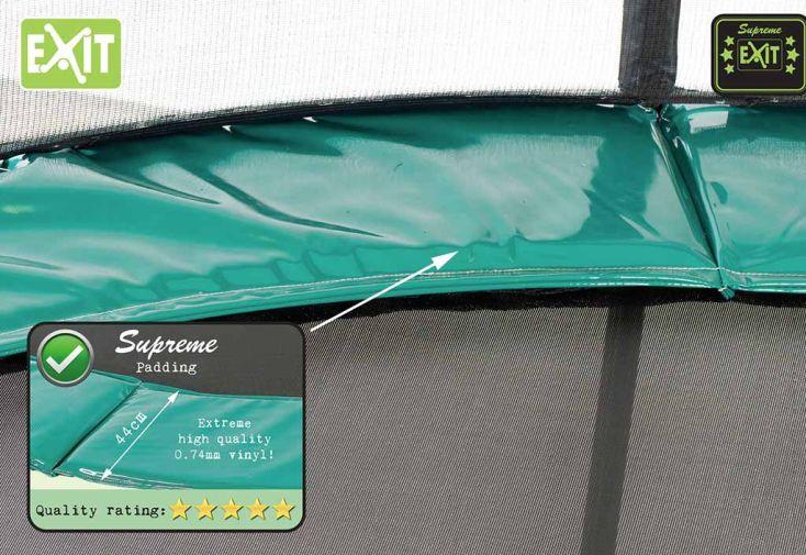 Trampoline Supreme All-in-1 avec Echelle et Filet de Sécurité Ø305 cm
