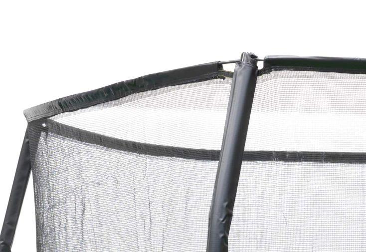 Trampoline jumparena avec echelle et filet de s curit 244cm exit toys - Filet trampoline 244 ...