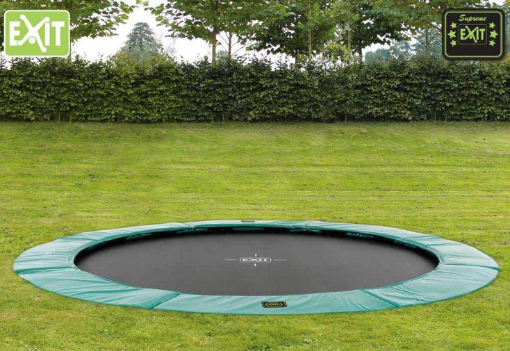 Trampoline Enterré Super Ground Level 427 cm