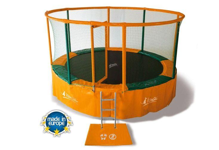 trampoline mon am nagement jardin. Black Bedroom Furniture Sets. Home Design Ideas