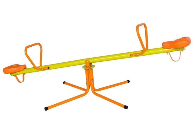 Trébuchet rotatif balançoire à bascule pour enfant en métal Trigano