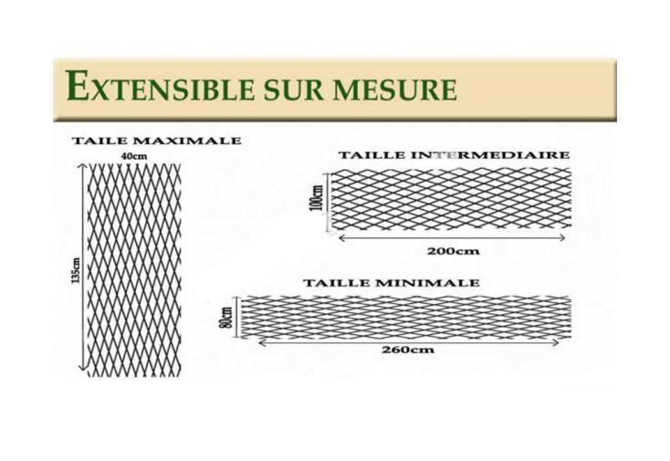 Haie de Lierre Artificiel Extensible Sur Mesure (9 Haies et +)