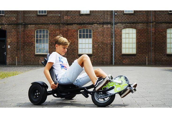 Tricycle Couché pour Enfant Exit Toys Trike Pro 100 Noir Conduit par Enfant