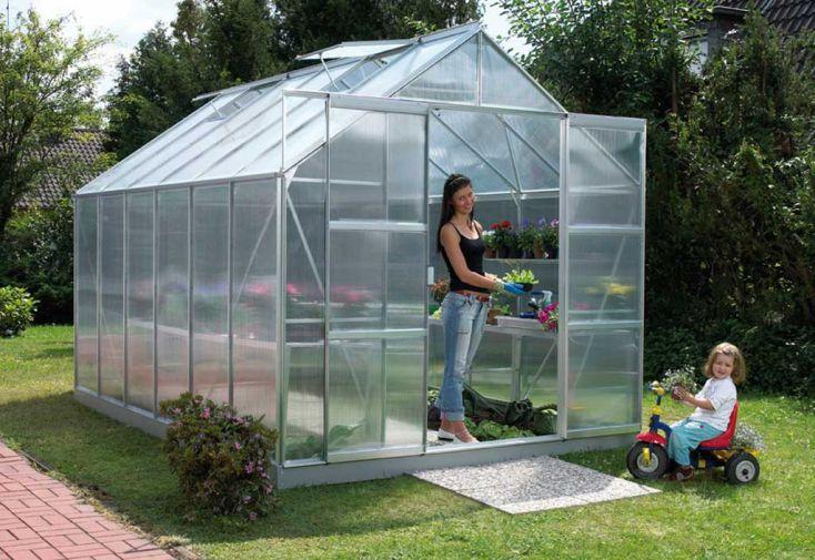 Serre de jardin polycarbonate URANUS 9900 Malva