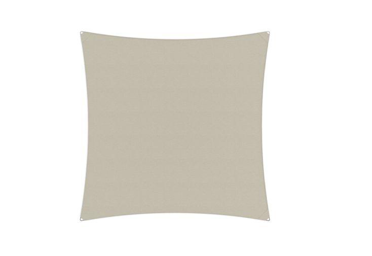 Voile d'ombrage Ingenua Umbrosa carrée 400 cm toile Solidum Canvas