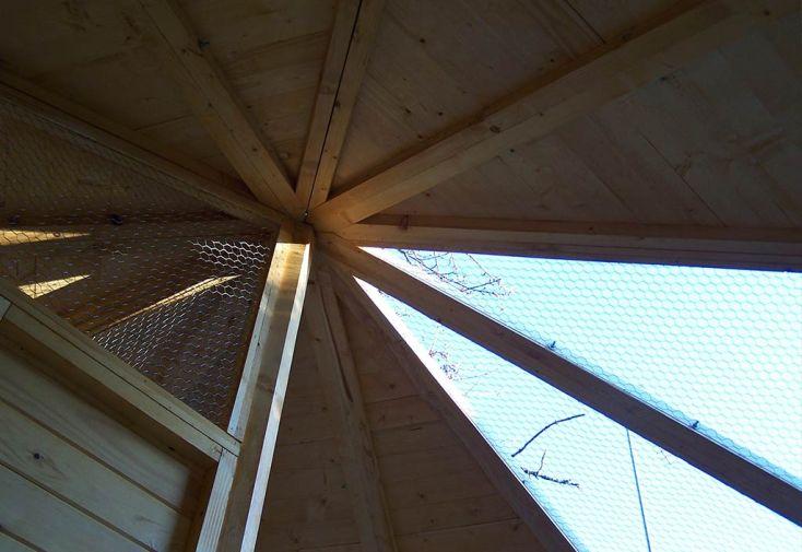 Volière Hexagonale Alouette