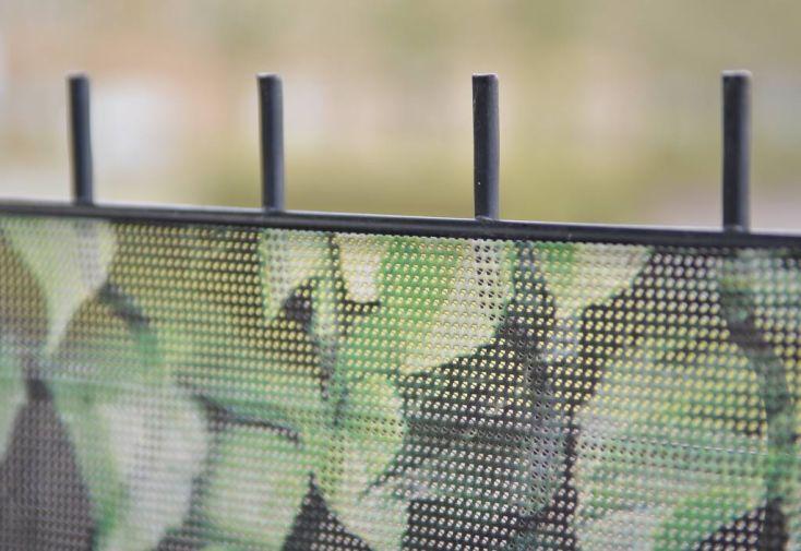Brise Vue Décoratif en Polyester Lierre Automnal au m²