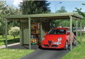 Carport en Bois PLUS (5x4)
