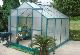 Serre de Jardin Polycarbonate Lotus (305x244x227)